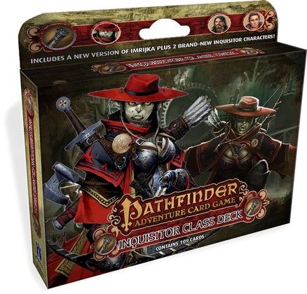 Pathfinder Adventure Card Game: Inquisitor Class Deck | All About Games