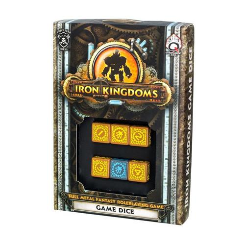 Iron Kingdoms Game Dice | All About Games