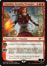 Chandra, Gremlin Wrangler [Unique and Miscellaneous Promos] | All About Games