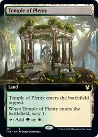 Temple of Plenty (Extended Art) [Theros Beyond Death] | All About Games