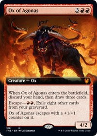 Ox of Agonas (Extended Art) [Theros Beyond Death] | All About Games