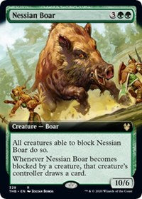 Nessian Boar (Extended Art) [Theros Beyond Death] | All About Games