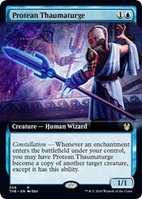 Protean Thaumaturge (Extended Art) [Theros Beyond Death] | All About Games