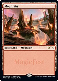 Mountain (2020) [MagicFest Cards] | All About Games