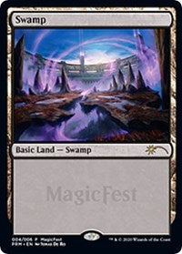 Swamp (2020) [MagicFest Cards] | All About Games