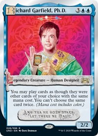 Richard Garfield, Ph.D. [Unsanctioned] | All About Games