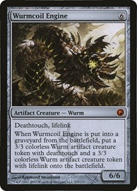 Wurmcoil Engine (Scars of Mirrodin) [Oversize Cards] | All About Games