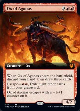 Ox of Agonas [Theros Beyond Death] | All About Games