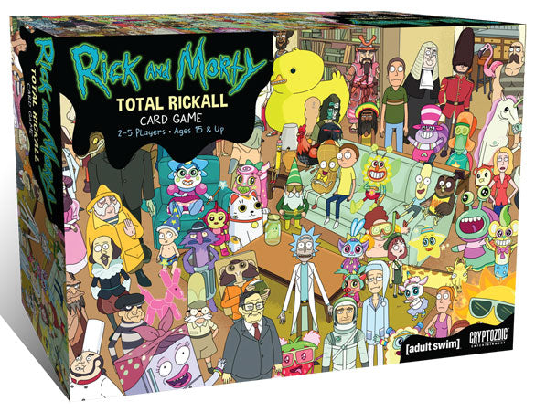Rick and Morty: Total Rickall Cooperative Card Game (stand alone) | All About Games