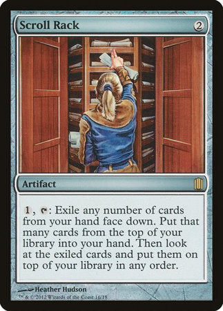 Scroll Rack [Commander's Arsenal] | All About Games