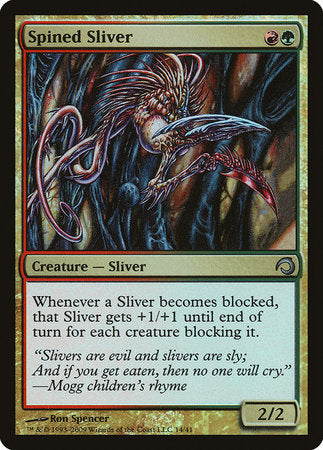 Spined Sliver [Premium Deck Series: Slivers] | All About Games