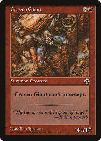 Craven Giant [Portal] | All About Games
