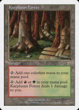 Karplusan Forest [Seventh Edition] | All About Games
