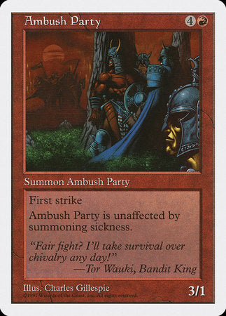Ambush Party [Fifth Edition] | All About Games