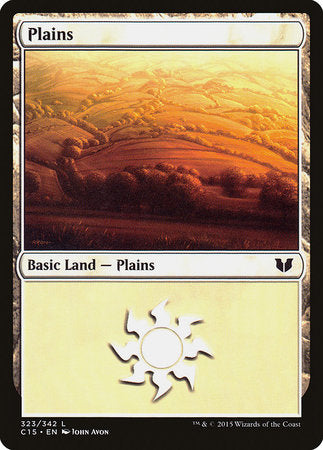 Plains (323) [Commander 2015] | All About Games