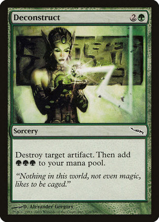 Deconstruct [Mirrodin] | All About Games