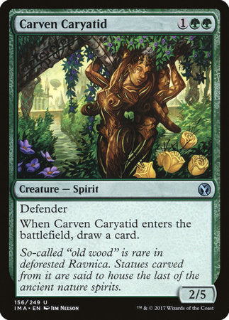 Carven Caryatid [Iconic Masters] | All About Games