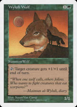 Wyluli Wolf [Fifth Edition] | All About Games