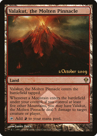 Valakut, the Molten Pinnacle [Zendikar Promos] | All About Games