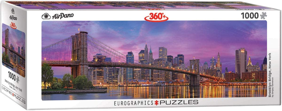 Brooklyn Bridge, New York 1000pc | All About Games