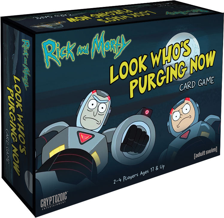 Rick and Morty: Look Who`s Purging Now Card Game (stand alone) | All About Games