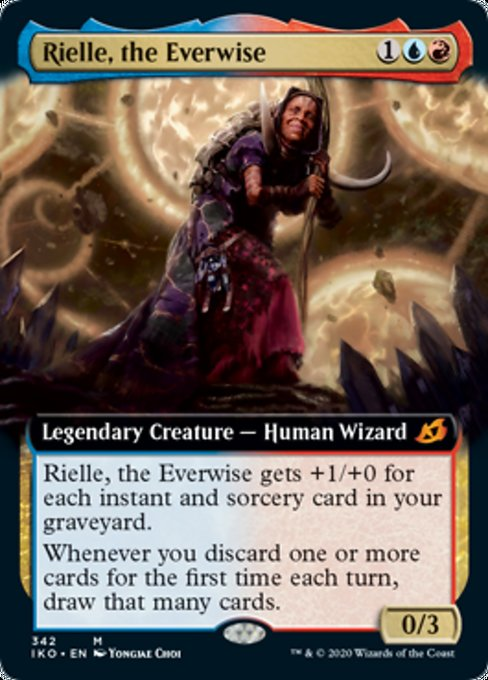 Rielle, the Everwise (Extended Art) [Ikoria: Lair of Behemoths] | All About Games