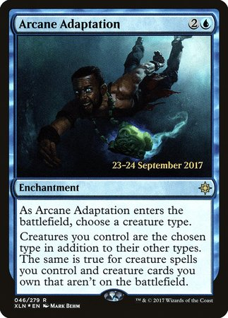 Arcane Adaptation [Ixalan Promos] | All About Games