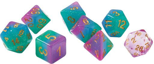 RPG Dice Set (7): Northern Lights | All About Games