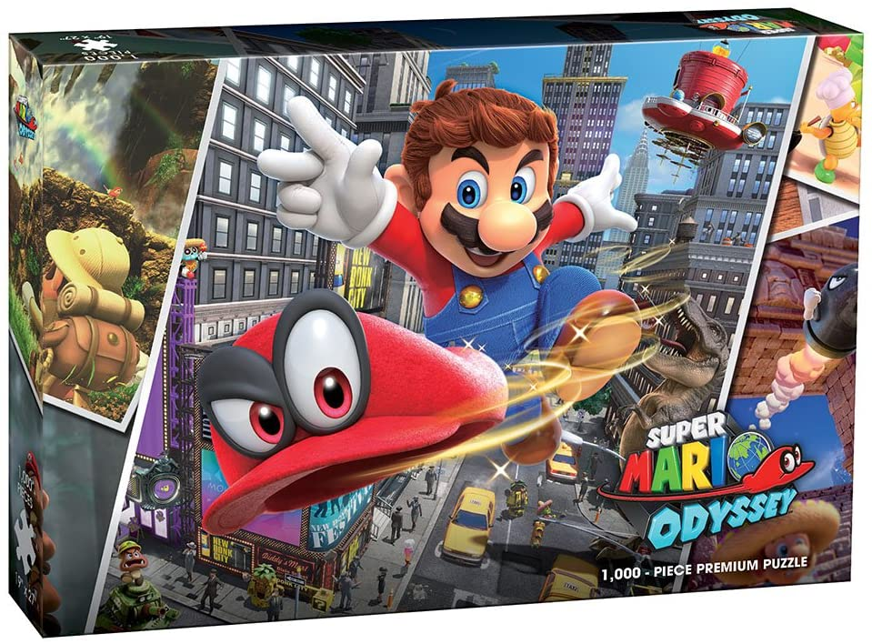 Mario Odyssey Puzzle | All About Games