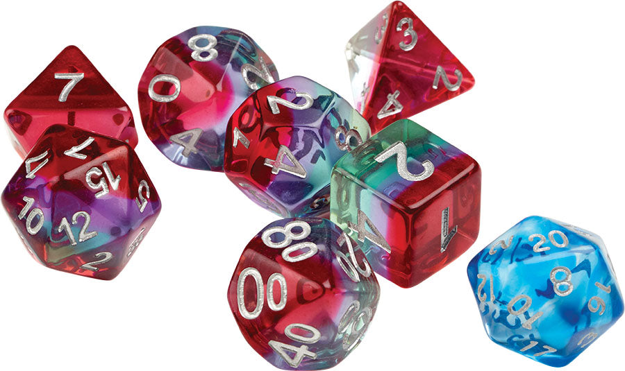 RPG Dice Set (7): Watermelon | All About Games