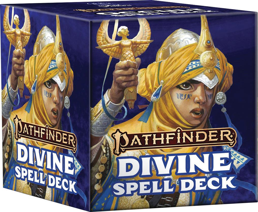 Pathfinder RPG: Spell Cards - Divine (P2) | All About Games