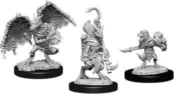 Dungeons & Dragons Nolzur`s Marvelous Unpainted Miniatures: W12 Kobold Inventor Dragonshield & Sorcerer | All About Games