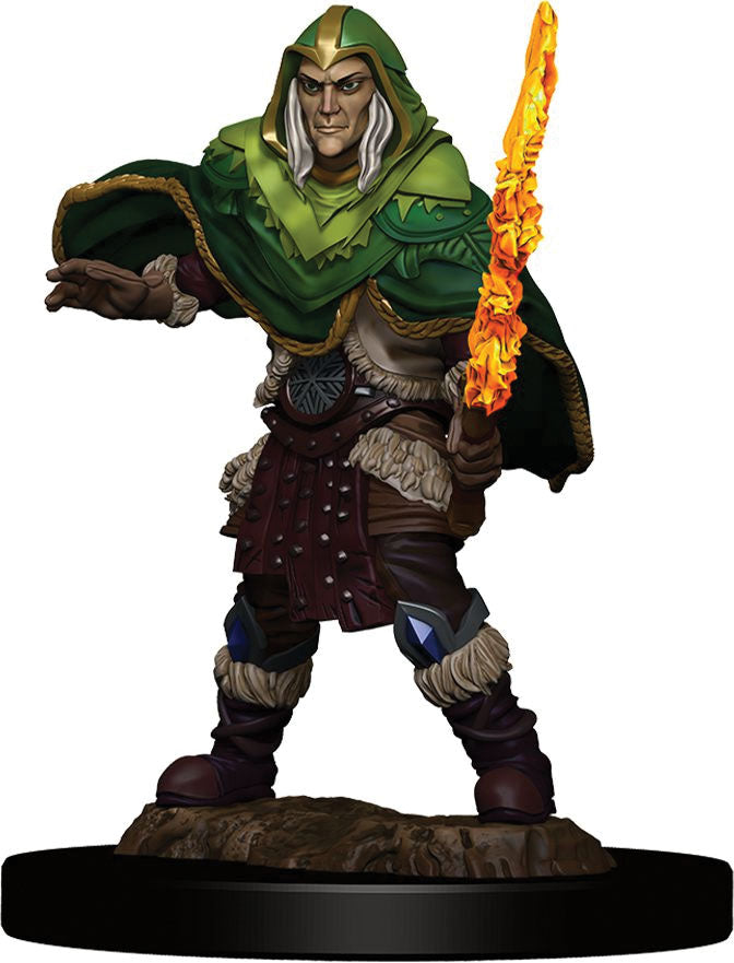 Dungeons & Dragons Fantasy Miniatures: Icons of the Realms Premium Figures W5 Elf Fighter Male | All About Games