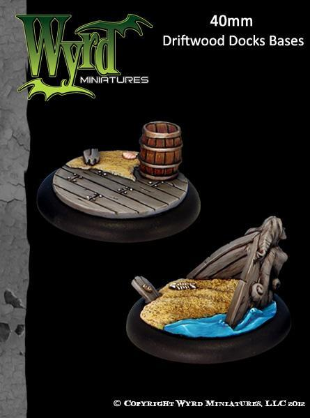 Driftwood Docks 40mm | All About Games