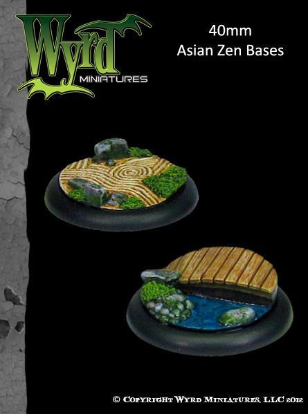 Asian Zen Bases (40mm) | All About Games
