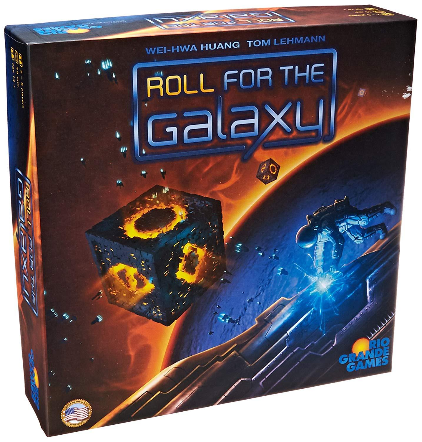 Roll for the Galaxy | All About Games