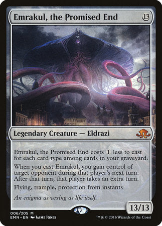 Emrakul, the Promised End [Eldritch Moon] | All About Games