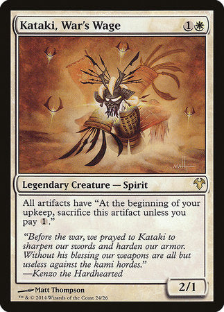 Kataki, War's Wage [Modern Event Deck 2014] | All About Games