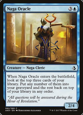 Naga Oracle [Amonkhet] | All About Games