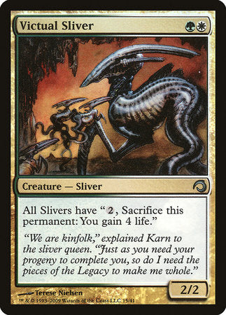 Victual Sliver [Premium Deck Series: Slivers] | All About Games