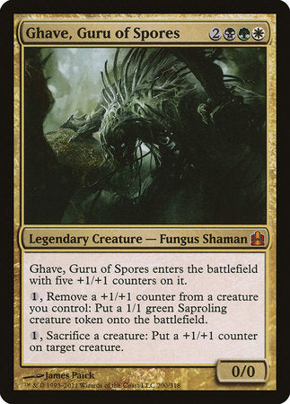 Ghave, Guru of Spores [Commander 2011] | All About Games