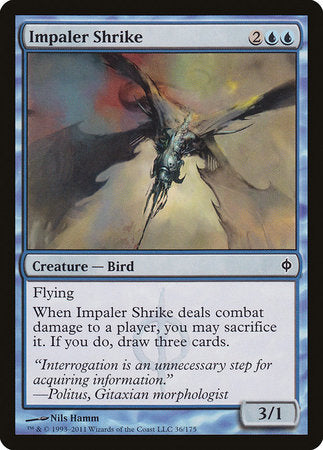 Impaler Shrike [New Phyrexia] | All About Games