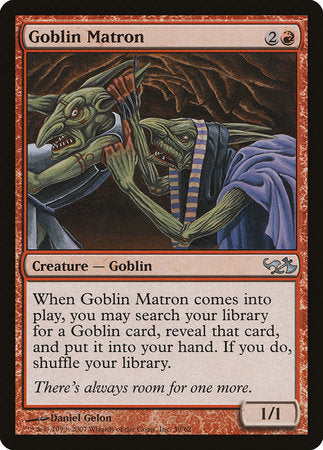 Goblin Matron [Duel Decks: Elves vs. Goblins] | All About Games