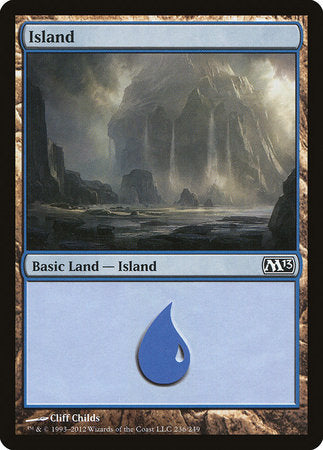 Island (236) [Magic 2013] | All About Games