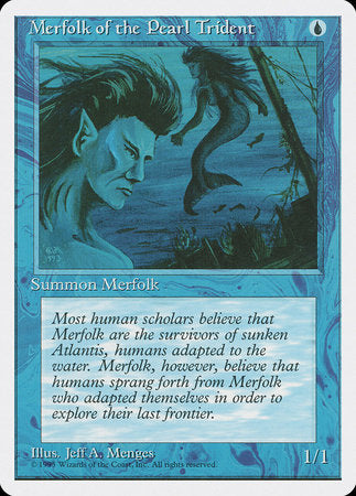 Merfolk of the Pearl Trident [Fourth Edition] | All About Games