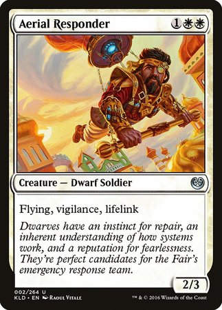 Aerial Responder [Kaladesh] | All About Games