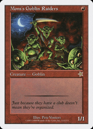 Mons's Goblin Raiders [Starter 1999] | All About Games