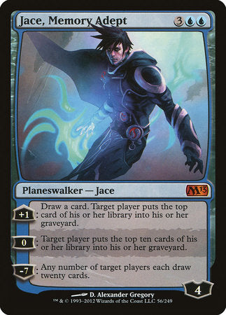 Jace, Memory Adept [Magic 2013] | All About Games