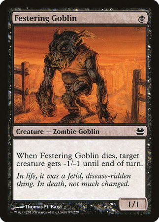 Festering Goblin [Modern Masters] | All About Games