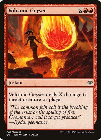 Volcanic Geyser [Archenemy: Nicol Bolas] | All About Games